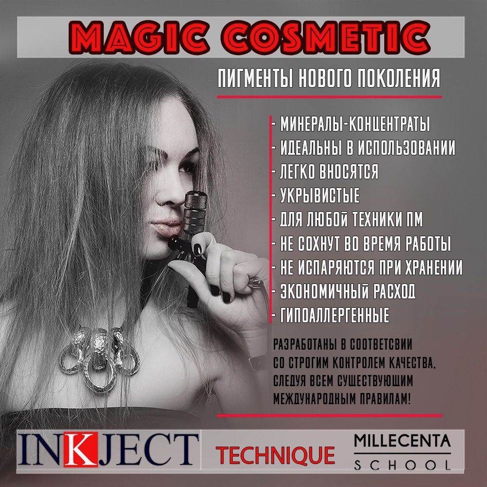 Magic color пигменты