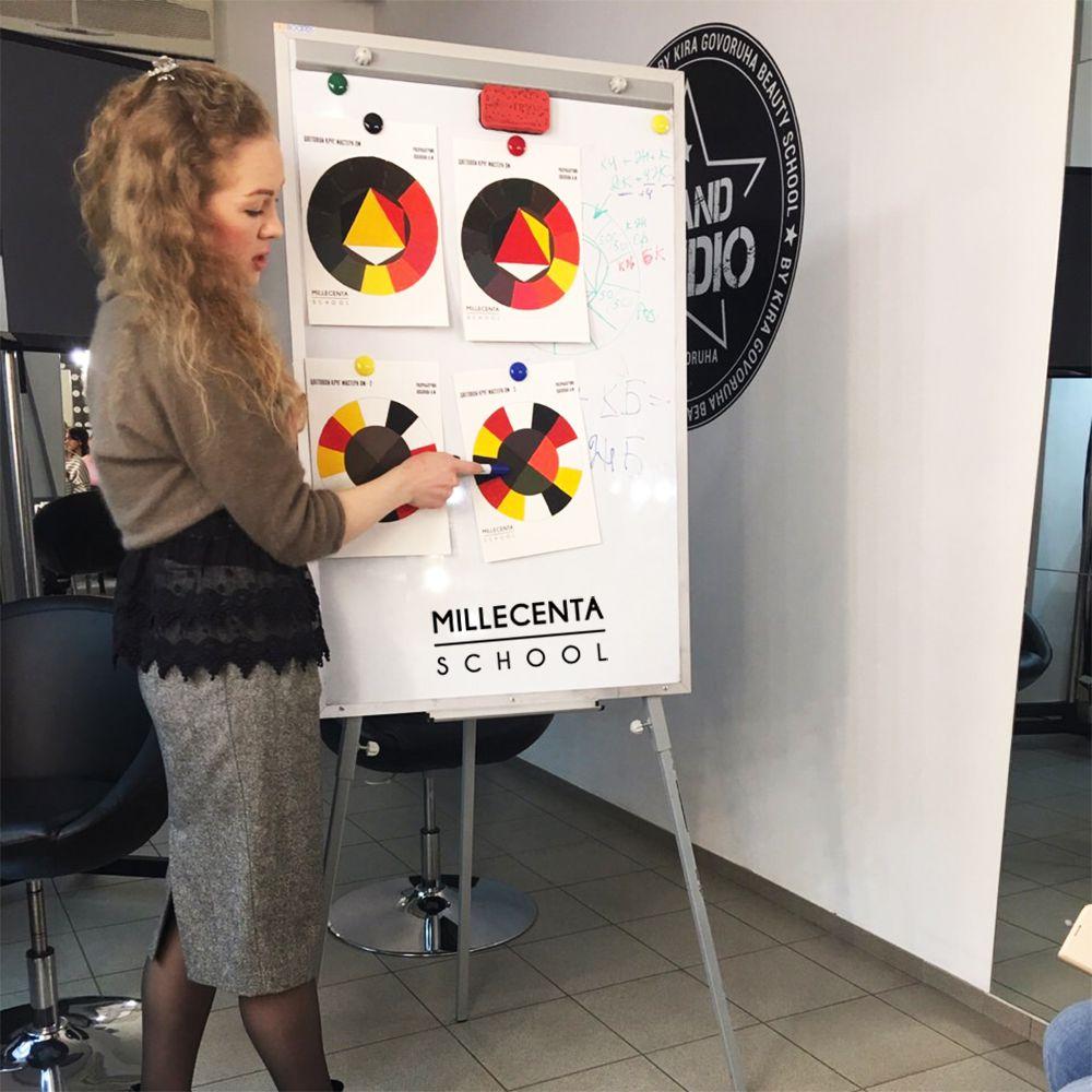 Обучение колористике. Обучение INK-TECHNIQUE в Киеве