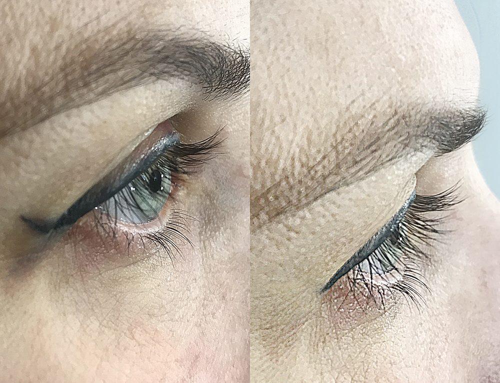 исправление перманентного макияжа