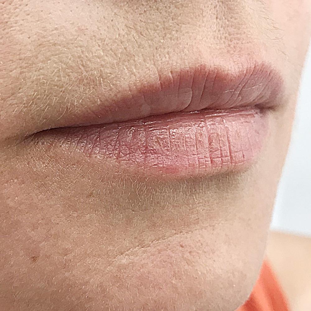 губы до перманентного макияжа