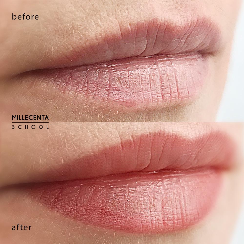 возрастной перманентный макияж губ