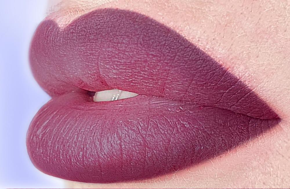 микс пурпурные губы